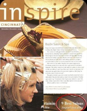 Inspire Magazine's Top Salon Picks