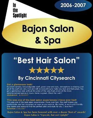 Best Hair Salon in Cincinnati 2007