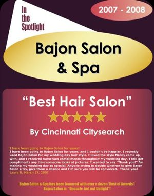 Best Hair Salon In Cincinnati 2008