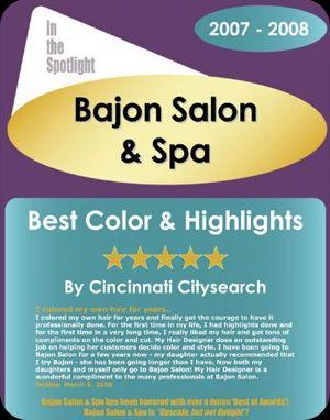 Best Color & Highlights In Cincinnati 2008