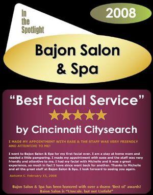 Best Facial Service In Cincinnati 2008