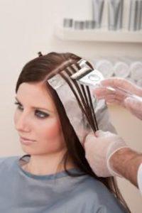 foiling hair