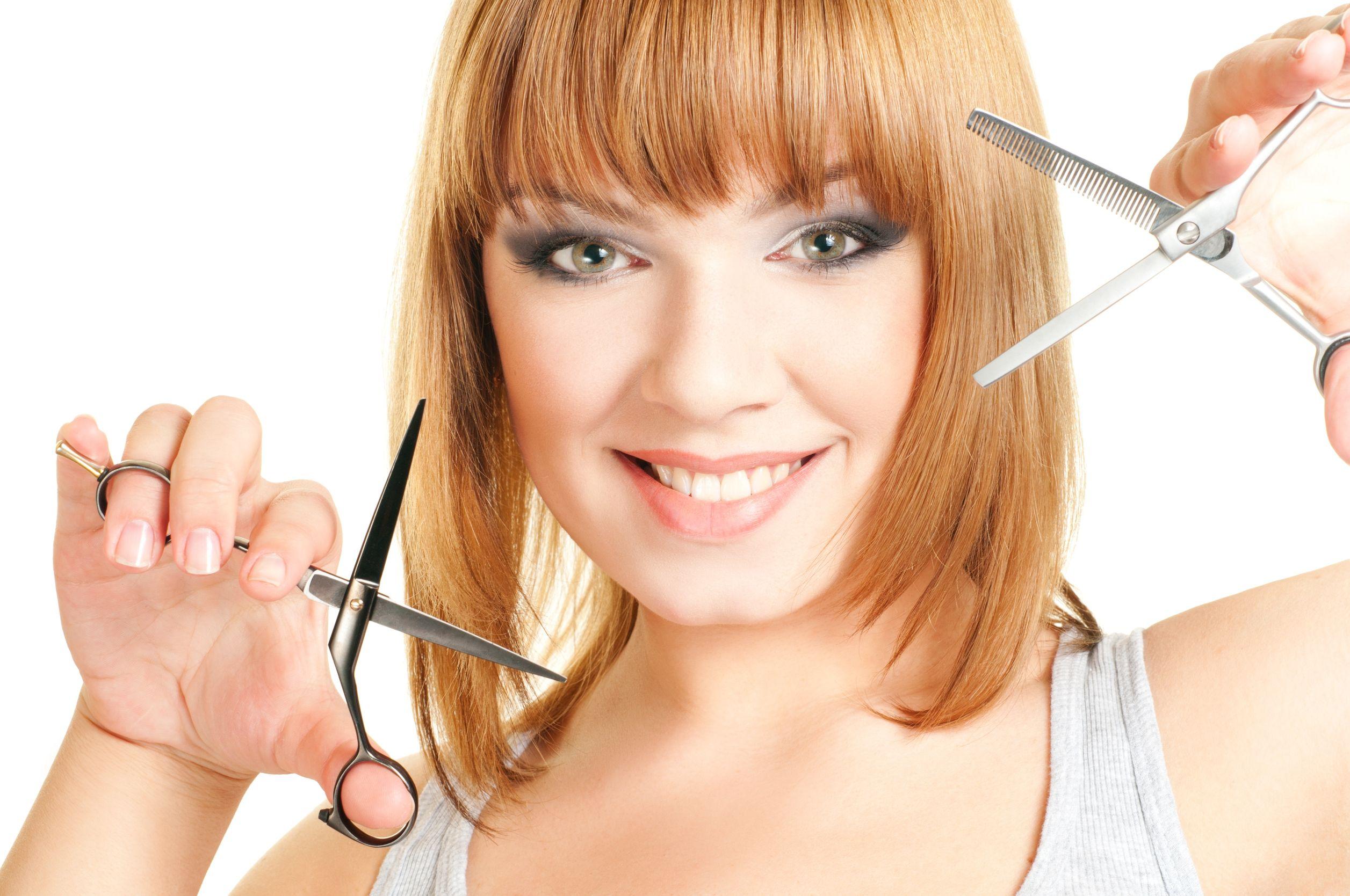 Dry Hair Cutting