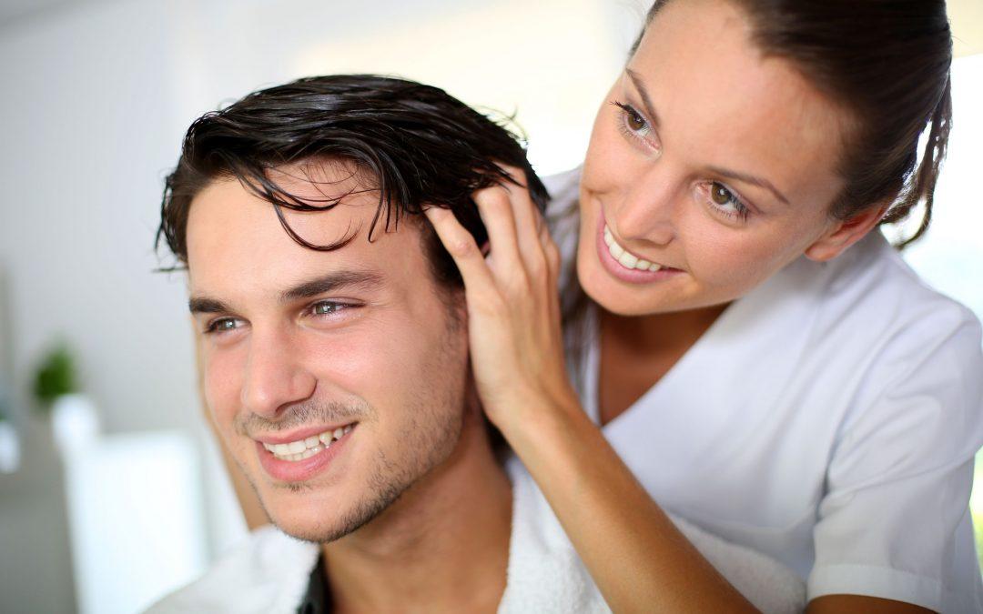 Men's Salon Services Trim Cost, Time