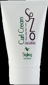 SoZo Curl Cream 4oz (Medium)