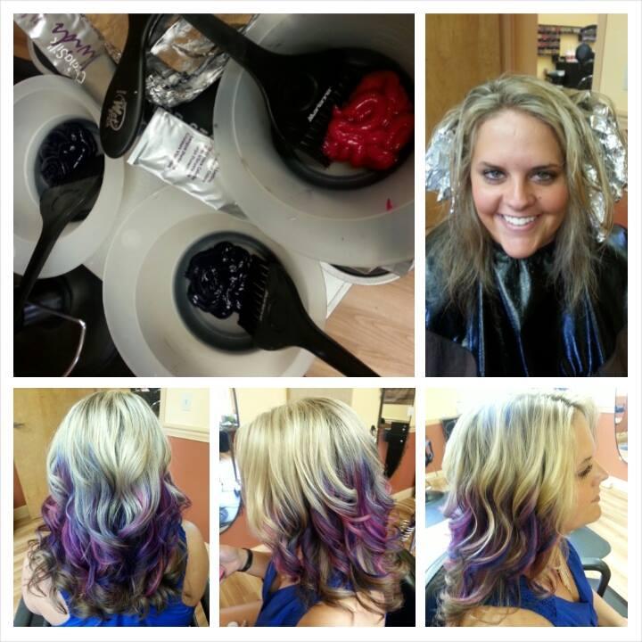 Morgans Purple Hair