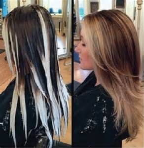 Balayage works on all types of hair whether you have dark or light, coarse or fine and straight or curly textures. You can easily achieve combinations of