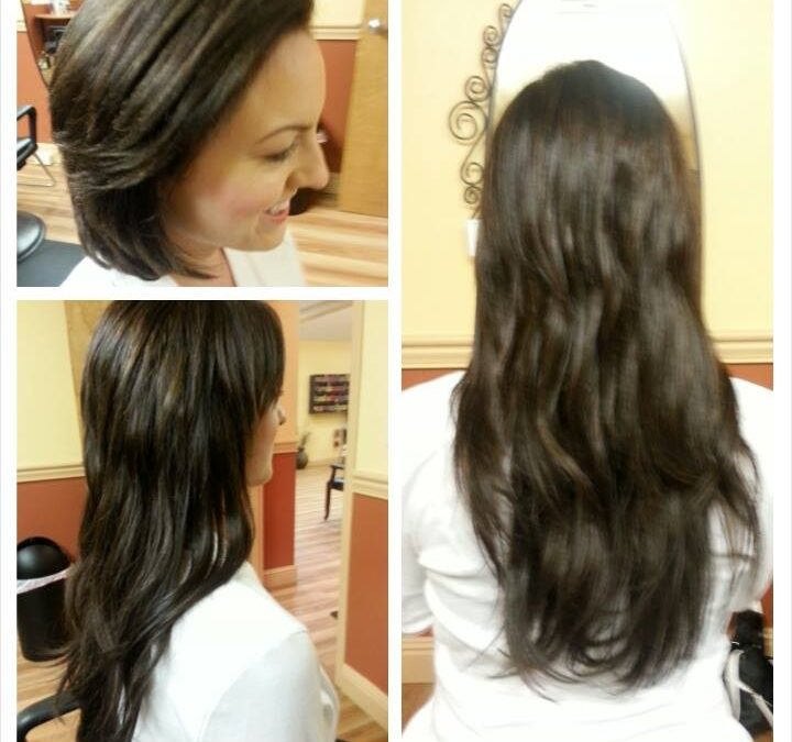 A New, Fresh Look with Tape-In Hair Extensions