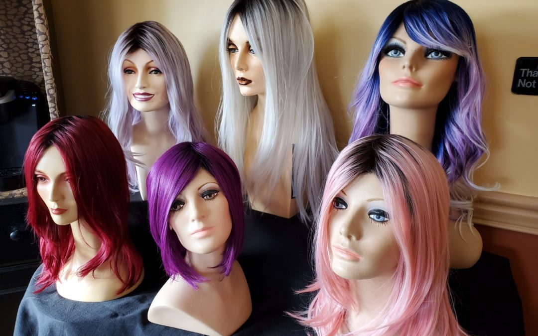 Natural and Synthetic Wigs at SoZo Hair, Spa and Wigs