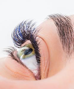 Eyelash Extensions and Brow Toning and Waxing